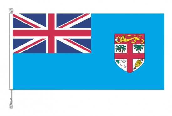 Fiji National Country Flag