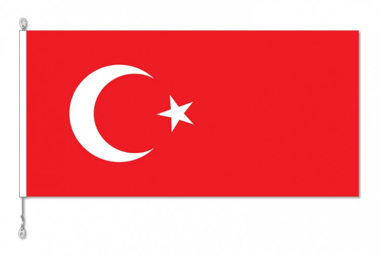 Turkey National Country Flag
