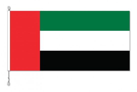 United Arab Emirates National Country Flag