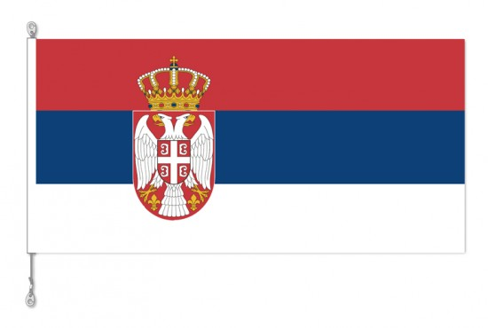 Serbia National Country Flag