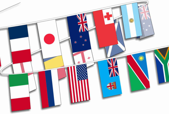 International-Bunting-20-Countries