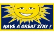 Have A Great Stay Motel Flag