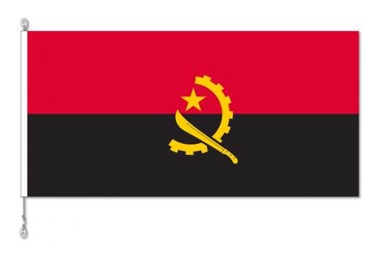 Angola National Country Flag
