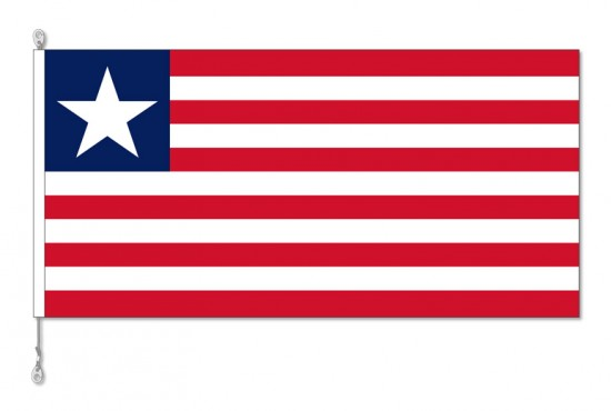 Liberia National Country Flag