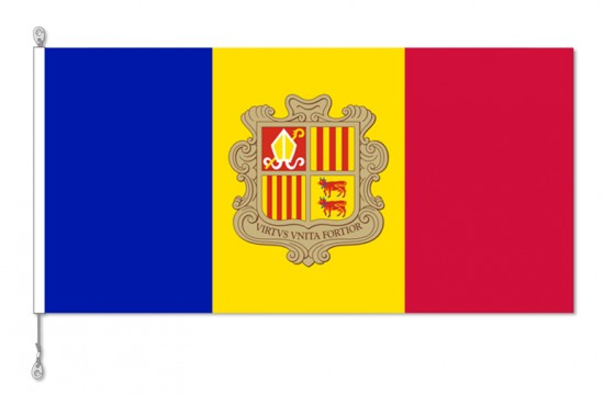 Andorra National Country Flag