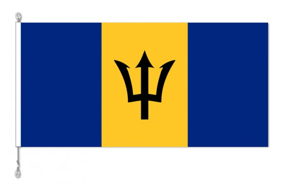 Barbados National Country Flag