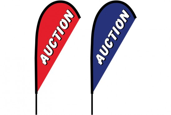 Auction Teardrop