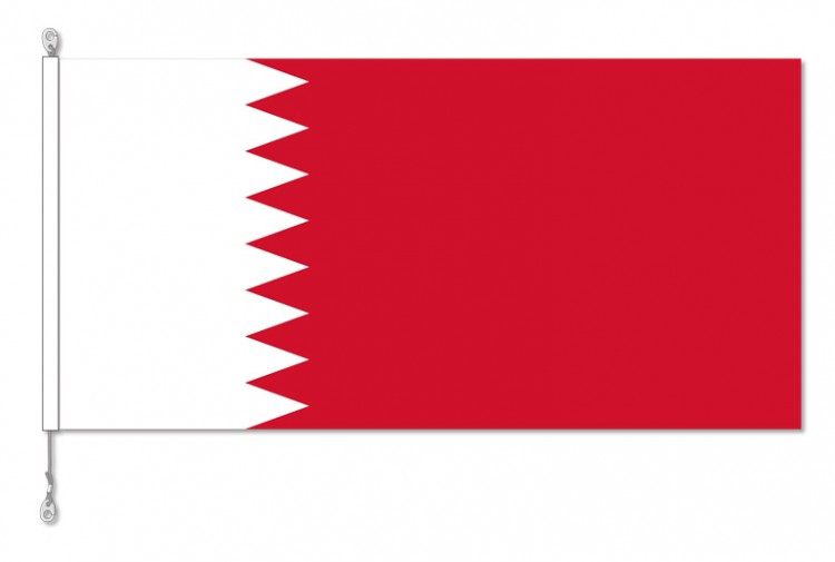 Bahrain National Country Flag