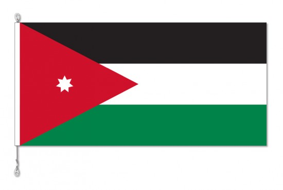 Jordan National Country Flag