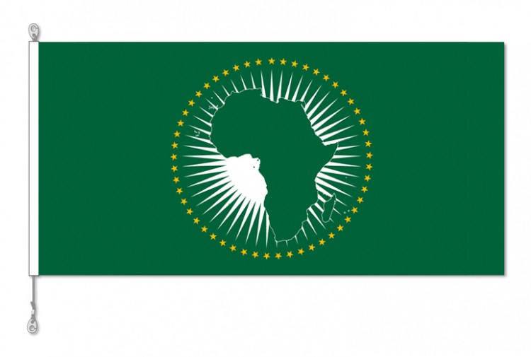 African Union National Country Flag