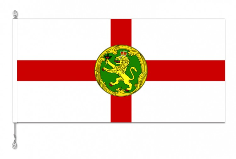 Alderney National Country Flag