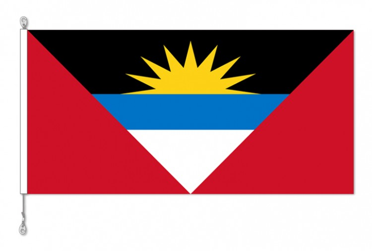 Antigua & Barbuda National Country Flag