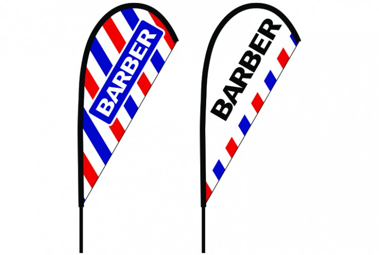 Barber Teardrop Custom Design