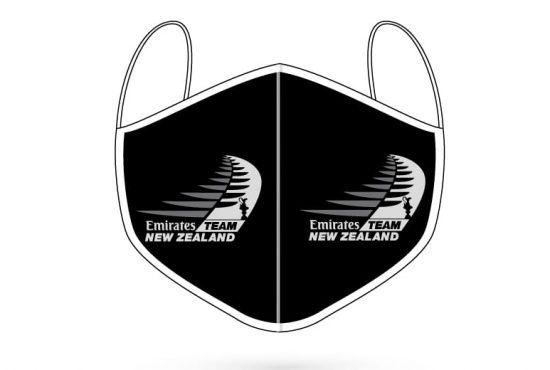 ETNZ Emirates Team New Zealand digitally printed 3 ply face mask